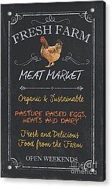 Fresh Farm Meat Acrylic Print by Debbie DeWitt