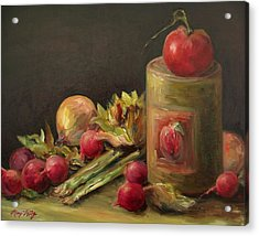 Freshly Picked Acrylic Print by Mary Wolf