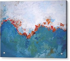 From Above Acrylic Print by Kate Tesch