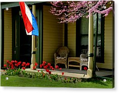 Front Porch Acrylic Print by Lyle  Huisken