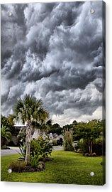 Frontal Clouds Acrylic Print by Dustin K Ryan