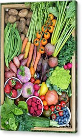 Fruit And Veg Acrylic Print by Tim Gainey