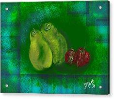 Fruit Acrylic Print by Jessica Mason