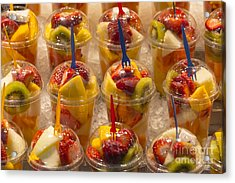 Fruit Juice Acrylic Print by Svetlana Sewell