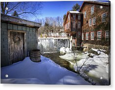 Frye's Measure Mill Acrylic Print by Eric Gendron