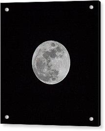 Full Moon Acrylic Print by Hyuntae Kim