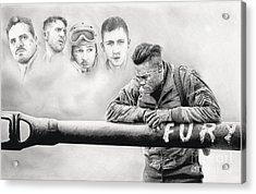 Fury Crew Acrylic Print by James Holko