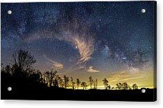 Galactic Skies Acrylic Print by Bill Wakeley