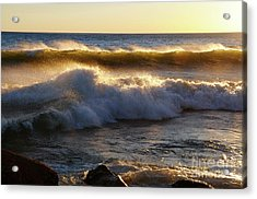 Gales Of November 2016 Acrylic Print by Sandra Updyke