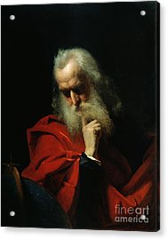 Galileo Galilei Acrylic Print by Ivan Petrovich Keler Viliandi