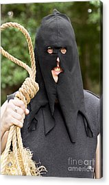 Gallows Hangman With Noose Acrylic Print by Jorgo Photography - Wall Art Gallery