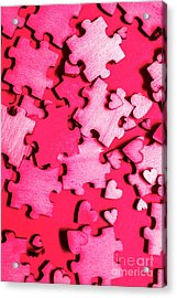 Game Of Romance Acrylic Print by Jorgo Photography - Wall Art Gallery