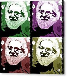 Garcia Seein Double Acrylic Print by Robert Margetts