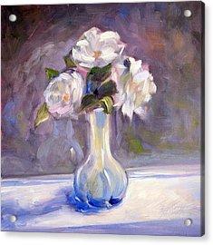 Garden Icebergs Acrylic Print by Athena  Mantle