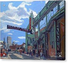 Gate C Acrylic Print by Deb Putnam