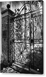 Gate To St. Michaels Acrylic Print by Steven Ainsworth