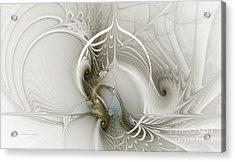 Gateway To Heaven-fractal Art Acrylic Print by Karin Kuhlmann
