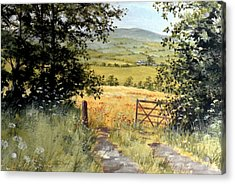 Gateway To The Vale Acrylic Print by Stuart Parnell