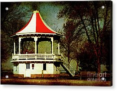 Acrylic Print featuring the photograph Gazeebo by Joel Witmeyer