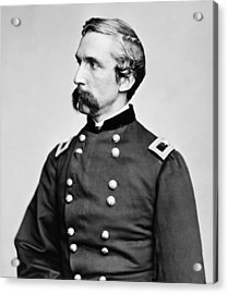 General Joshua Chamberlain  Acrylic Print by War Is Hell Store