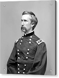 General Joshua Lawrence Chamberlain Acrylic Print by War Is Hell Store