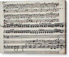 George Frederick Handel Acrylic Print by Granger
