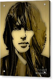 George Harrison Collecton Acrylic Print by Marvin Blaine