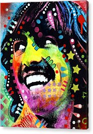 George Harrison Acrylic Print by Dean Russo