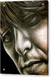 George Harrison Acrylic Print by Zach Zwagil