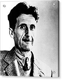 George Orwell, Circa 1949 Acrylic Print by Everett