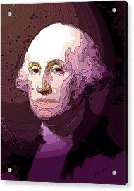 George Washington Acrylic Print by Tray Mead