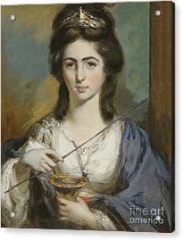 Georgiana Spencer Duchess Of Devonshire Acrylic Print by Celestial Images