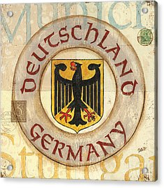 German Coat Of Arms Acrylic Print by Debbie DeWitt