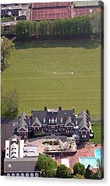 Germantown Cricket Club Courtyard Acrylic Print by Duncan Pearson