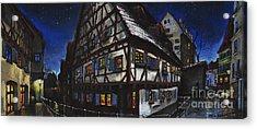 Germany Ulm Fischer Viertel Schwor-haus Acrylic Print by Yuriy  Shevchuk