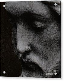 Gethsemane Acrylic Print by Linda Knorr Shafer