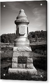 Gettysburg National Park 30th Pennsylvania Infantry Monument Acrylic Print by Olivier Le Queinec