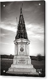 Gettysburg National Park 42nd New York Infantry Monument Acrylic Print by Olivier Le Queinec