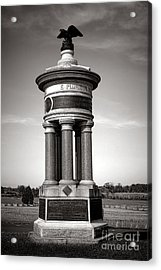Gettysburg National Park 71st And 72nd New York Infantry Monument Acrylic Print by Olivier Le Queinec