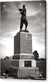 Gettysburg National Park 72nd Pennsylvania Infantry Monument Acrylic Print by Olivier Le Queinec