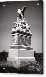 Gettysburg National Park 88th Pennsylvania Infantry Monument Acrylic Print by Olivier Le Queinec