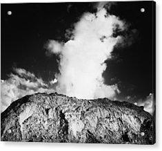 Geyser Rock Acrylic Print by Stephen Mack