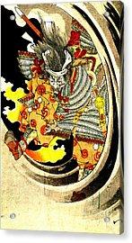 Ghost Of Warrior Tomomori 1880 Acrylic Print by Padre Art