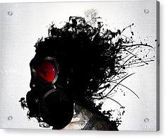 Ghost Warrior Acrylic Print by Nicklas Gustafsson