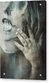 Ghost.echoes.silent Sounds. Acrylic Print by Joanna Jankowska