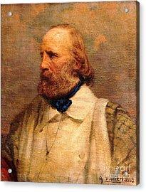 Giuseppe Garibaldi Acrylic Print by Pg Reproductions