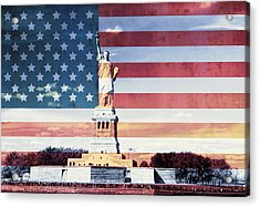 Give Me Liberty Acrylic Print by Dan Sproul