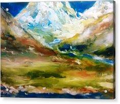 Glacial Summer Acrylic Print by Patricia Taylor