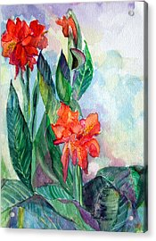 Glad To Be Acrylic Print by Mindy Newman