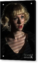 Glamour Acrylic Print by Amanda And Christopher Elwell